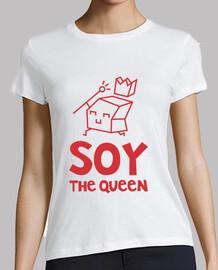 suis la reine