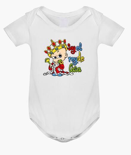Vêtements enfant suis le roi de la maison