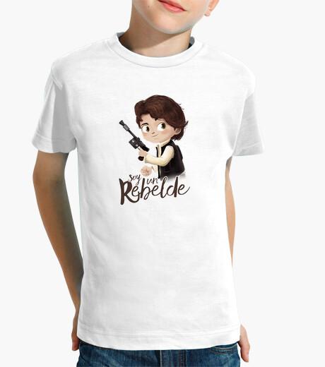 Vêtements enfant suis un rebelle
