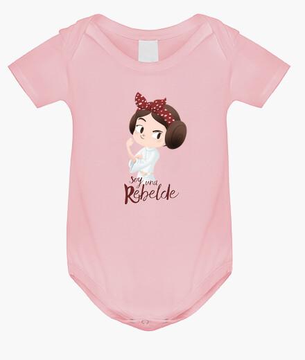 Vêtements enfant suis un rebelle v2