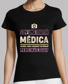 suis une maman de médecin, comme une maman normale mais plus froide