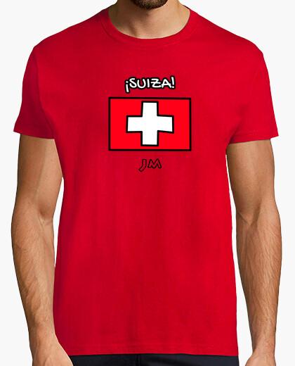 Camiseta Suiza - Europa