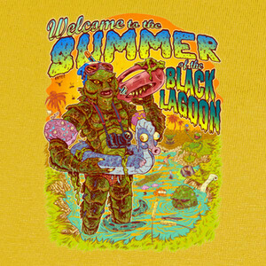 Summer of the Black lagoon T-shirts
