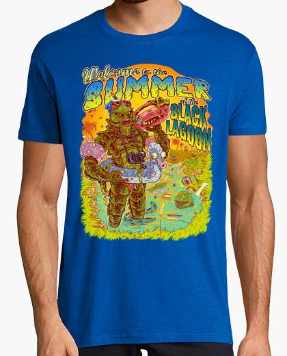 Summer of the Black lagoon camiseta