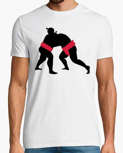 T-shirt sumo wrestling