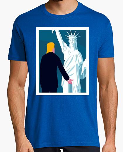 Camiseta sump trump - tocamientos sexuales