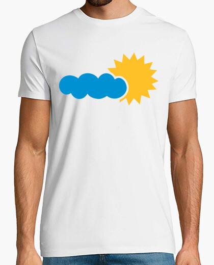 T-shirt sun cloud