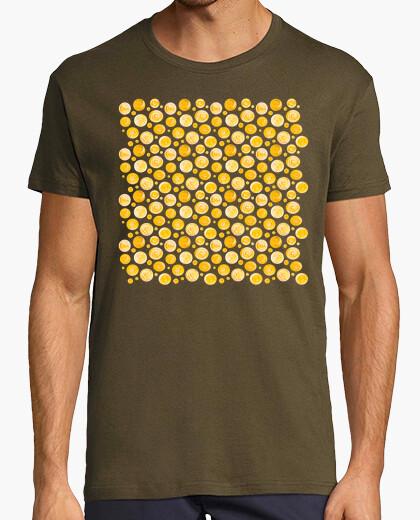 Sun dots pattern t-shirt