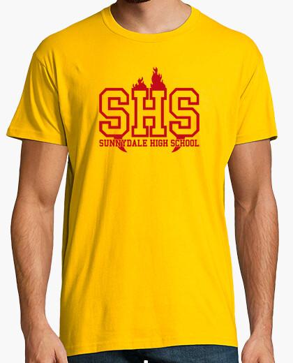 Camiseta Sunnydale rojo
