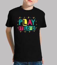 suonare forte - design per kids