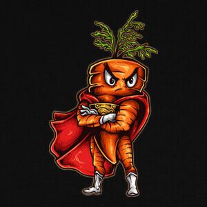 Camisetas Super Carrot