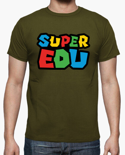 Camiseta Super Edu