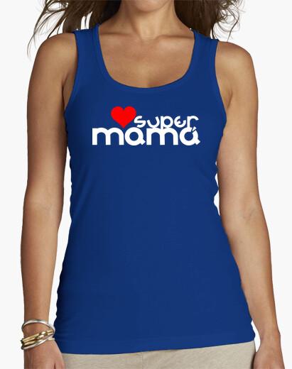 Camiseta SUPER MAMÁ CORAZÓN