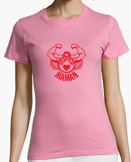 Tee-shirt super maman bras musclé