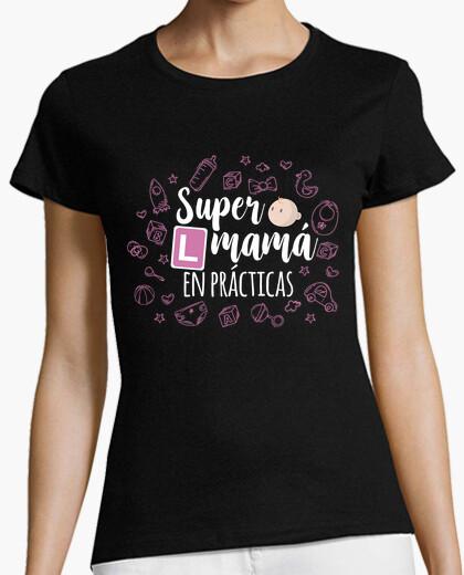 Tee-shirt super maman en pratique