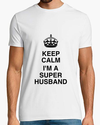 Vêtements et accessoires Ma superbe femme homme drôle 8th Anniversaire de Mariage T-Chemise Cadeau 8 ans Mari T-shirts pour homme