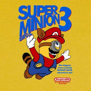 T-shirt Super Minion Bros 3