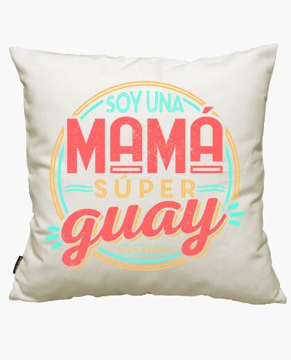 Super mom, cool mom cushion cover