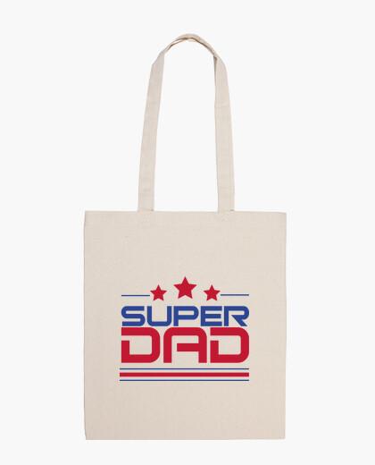 Super papa - sac en tissu 100% coton