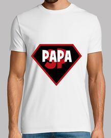 super papà bambino il giorno di padri