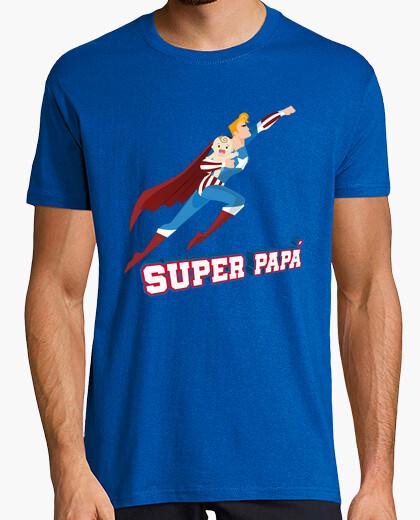 184992ef8 Super Papá. Camiseta de Superheroe - nº 1473981 - Camisetas latostadora