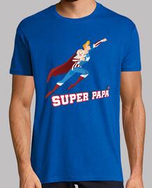 Super Papá. Camiseta de Superheroe