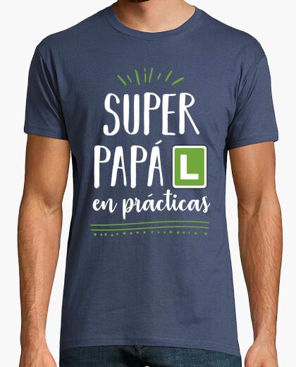 Camiseta Super Papá en prácticas