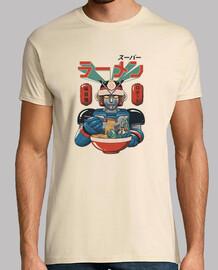 super ramen bot shirt para hombre