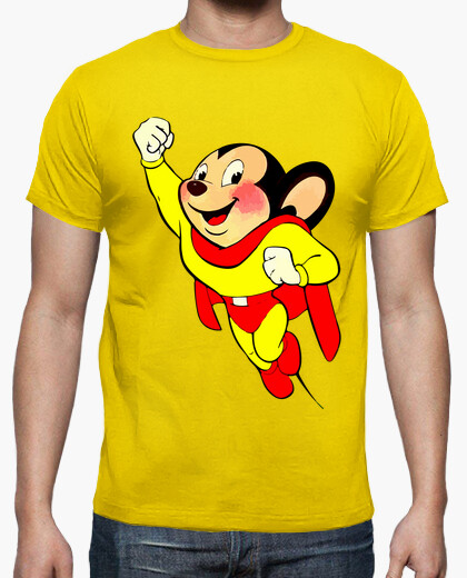 Camiseta Super Ratón - Mighty Mouse
