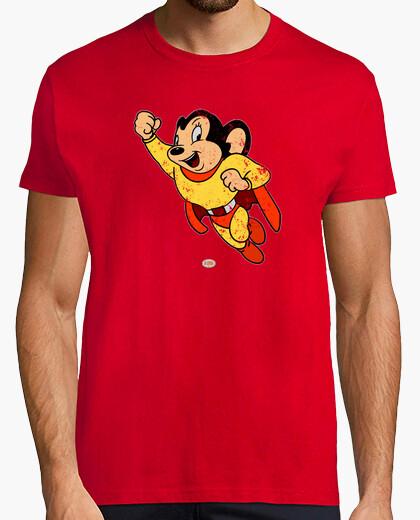 Camiseta Super Ratón envejecida