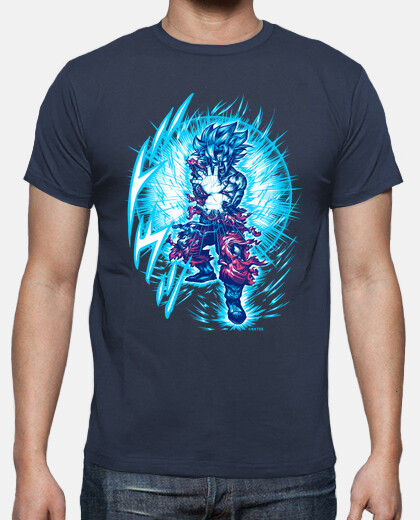 Super saiyajin blue camiseta