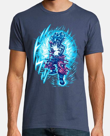 super saiyajin blue t-shirt