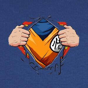 Camisetas Super Saiyan Man