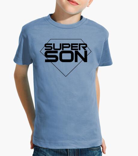 Abbigliamento bambino super sono - ragazzo, maniche corte, azzurro