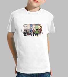 supereroi - t-shirt bambino