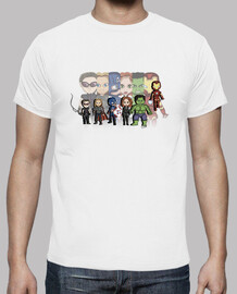supereroi - t-shirt da uomo