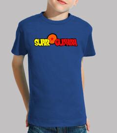 Superguerrera azul (niña)