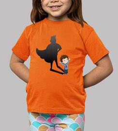 superhero child - kids shirt