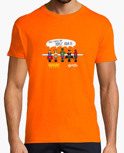 aa707da015bab superheroes football T-shirt - 443273