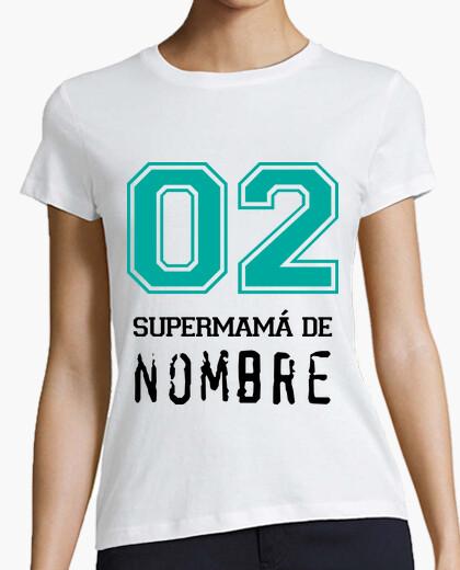 Camiseta SuperMamá Familia NOMBRE PERSONALIZADO *LEER DESCRIPCIÓN