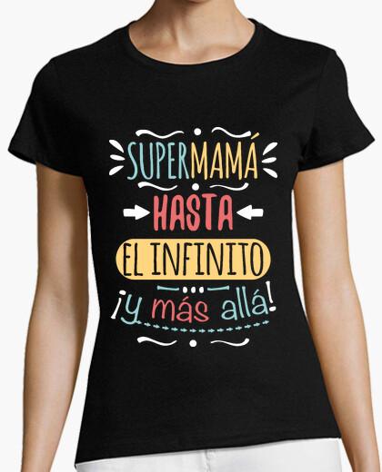 T-shirt Supermamma verso l'infinito e oltre