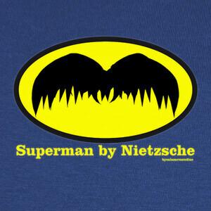 Camisetas SUPERMAN BY NIETZSCHE 2