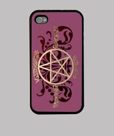 supernatural simbolo cover i-phone x