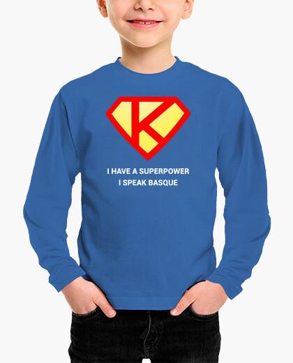Ropa infantil Superpower