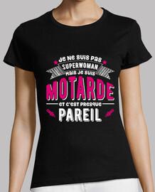 Superwoman motarde