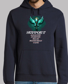SUPPORT ROLE sudadera