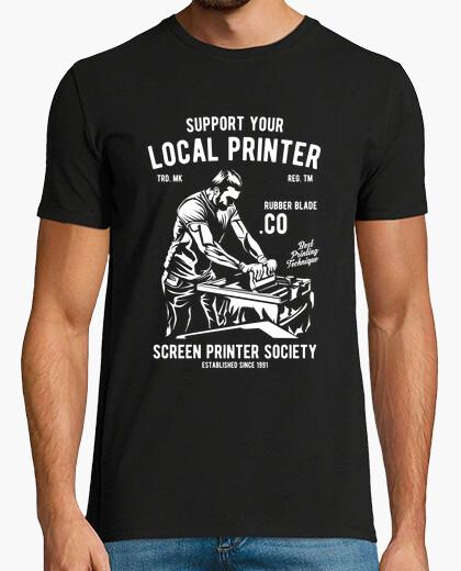 Camiseta Support you Local Printer