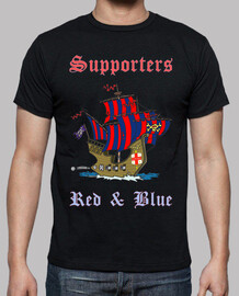 Supporters Red and Blue (Negro)