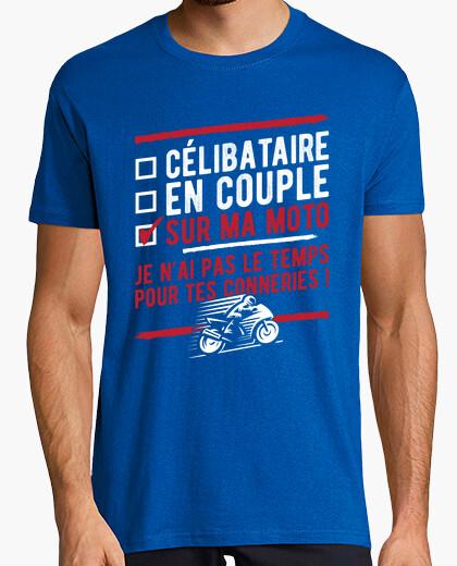 Tee-shirt Sur ma moto humour motard