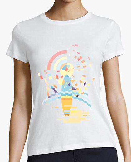 Camiseta Surf Atardecer